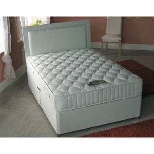 Size 1000 pocket springmemory foam aloe vera four drawer for Cheap 4 foot divan beds
