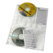 Durable CD Wallets for A4 Index Binder product image