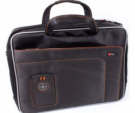 DURAGADGET ``Travel`` Protective Storage Case With Room For Philips PD7010 PD7010/12 Portable DVD Player, Cables, DVDs