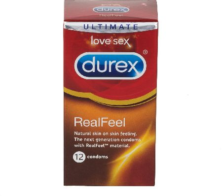 Durex, 2102[^]0107336 Real Feels 12s