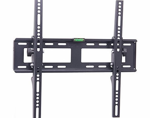 Duronic TVB123SM Extra Slim Adjustable Black Wall Bracket For Plasma, LCD amp; LED Screens For 23``-56`` product image