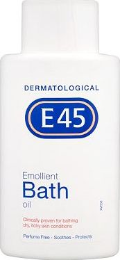 E45, 2041[^]10025890 Emollient Bath Oil 500ml 10025890