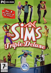 EA The Sims Triple Deluxe PC