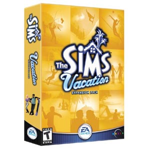 EA The Sims Vacation for Mac PC