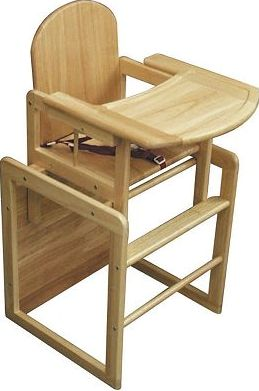 East Coast, 2041[^]10020661 3-in-1 Combination Wooden High Chair