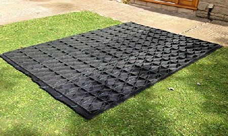 Eco Deck 6x4 GARDEN SHED BASE GRID = FULL ECO KIT 2.1m x 1.2m   HEAVY DUTY MEMBRANE PLASTIC ECO PAVING BASES amp; DRIVEWAY GRIDS