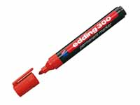 Edding 300 permanent bullet tip red marker with product image