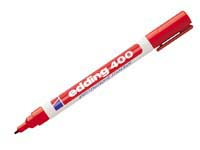 Edding 400 permanent red bullet tip marker pen, product image