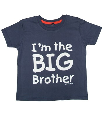 Edward Sinclair Im the Big Brother - Navy T-Shirt product image