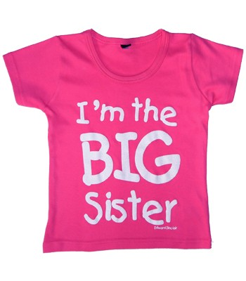 Edward Sinclair Im the Big Sister- Pink T-Shirt product image