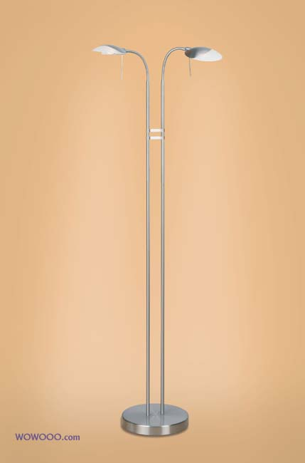 Nickel Floor Lamps