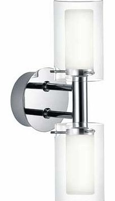 Palermo 2 Piece Bathroom Wall Light