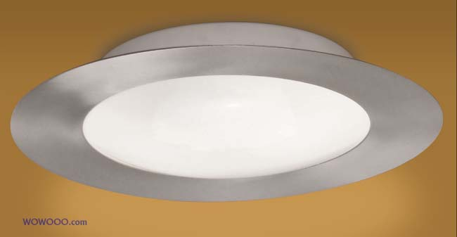 Palmera Round Bathroom light, nickel - CLICK FOR MORE INFORMATION