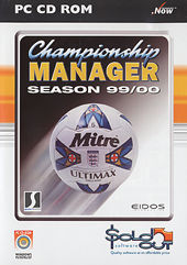 EIDOS Championship Manager 99/00 PC