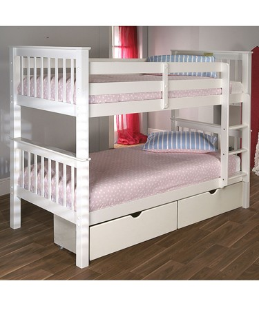 Elan Pavo White Bunk Bed product image