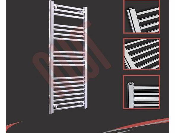 Black 400mm Towel Radiator: Gel Radiators