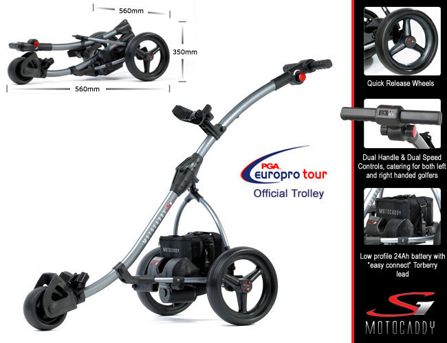 Motocaddy S1 Electric Trolley - Graphite