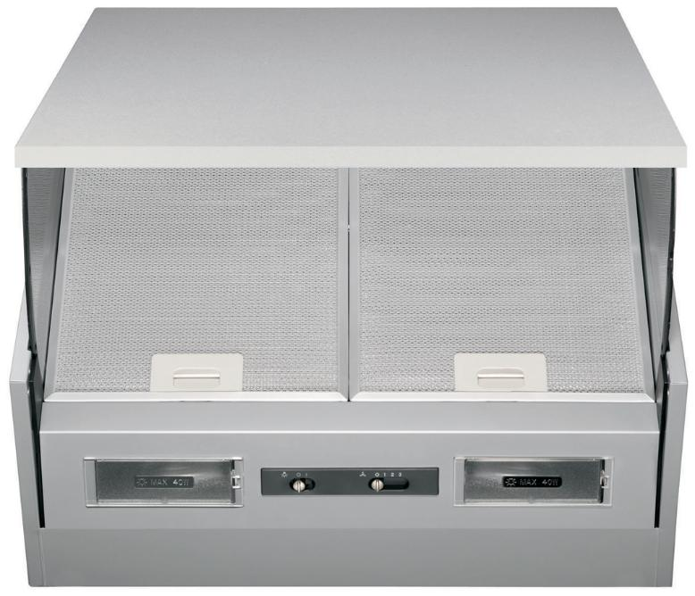 Electrolux EFi60012S 60cm Integrated Hood In Grey
