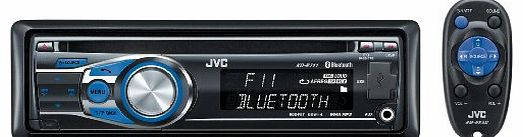 JVC KD-R711 - Radio / CD / MP3 player / digital player - Full-DIN - in-dash - 50 Watts x 4