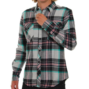 Dakota Flannel shirt - Black
