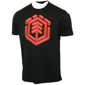 Element Mens Mens Element Third Dimension T-Shirt. Black product image