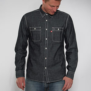 Railway Denim shirt - Rinsed