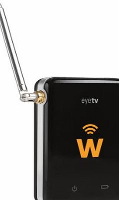 Elgato EyeTV W, Mobile TV Hotspot for your iPad, iPhone amp; Android, black