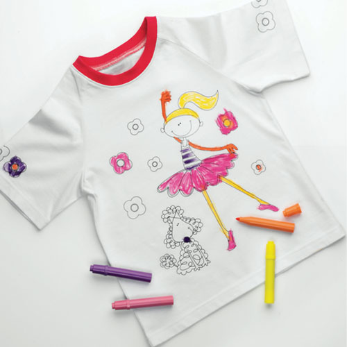Ella decorate your own t shirt review compare prices for Decorate your own shirt