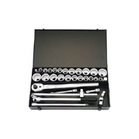 Elora 31 Piece 3/4andquot Square Drive Metric and Imperial Socket Set product image