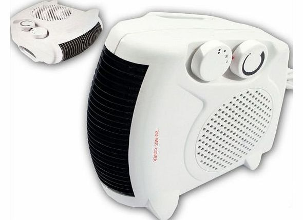 TOOL-GENIUS® 2000W PORTABLE SILENT ELECTRIC FAN HEATER HOT & COOL UPRIGHT BRAND NEW IN BOX