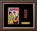 elvis King Creole - Single Film Cell: 245mm x 305mm (approx) - black frame with black mount