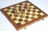 Elysium Enterprises Compendium of Chess, Backgammon, Draught. Inlaid. Shisham 25 cm product image