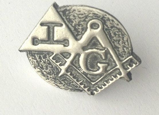 Emblems-Gifts Masonic Crest amp; Royal Arch Hand Crafted Pewter Lapel Pin Badge *EXCLUSIVE*