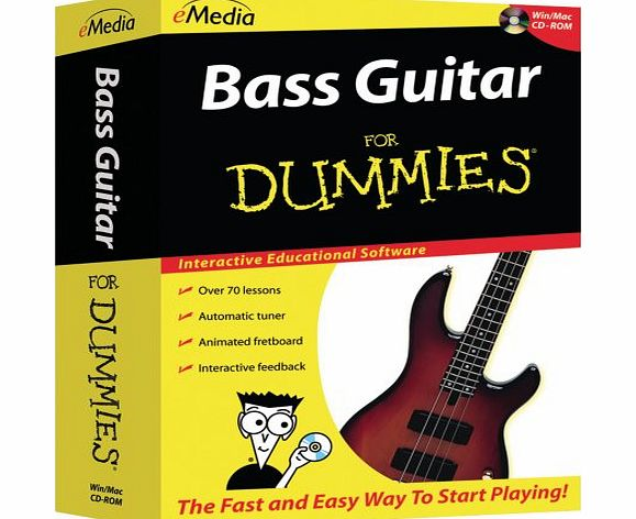Bass Guitar For Dummies (PC amp; Mac) - CLICK FOR MORE INFORMATION