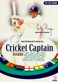 EMPIRE International Cricket Captain 2002 PC