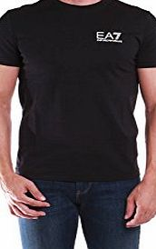 Emporio Armani Mens Emporio Armani EA7 Mens Train Core ID T-Shirt in Black - M