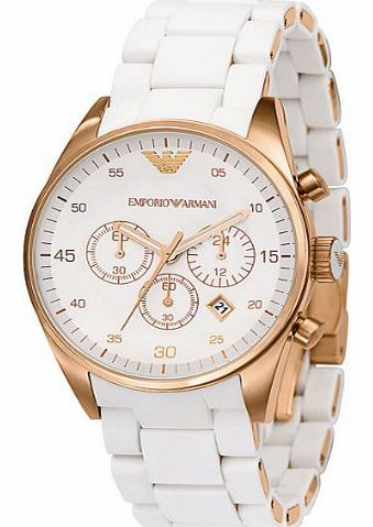 Emporio Armani Womens Chrono Sports Watch AR5920 product image
