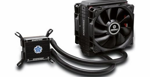 ELC LT120XHP Liquid Cooler CPU Water Cooling System Patented Shunt Channel Technology Dual Radiator Twister Fan APS