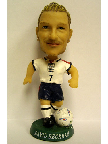 Bobblehead David Beckham Doll Toy