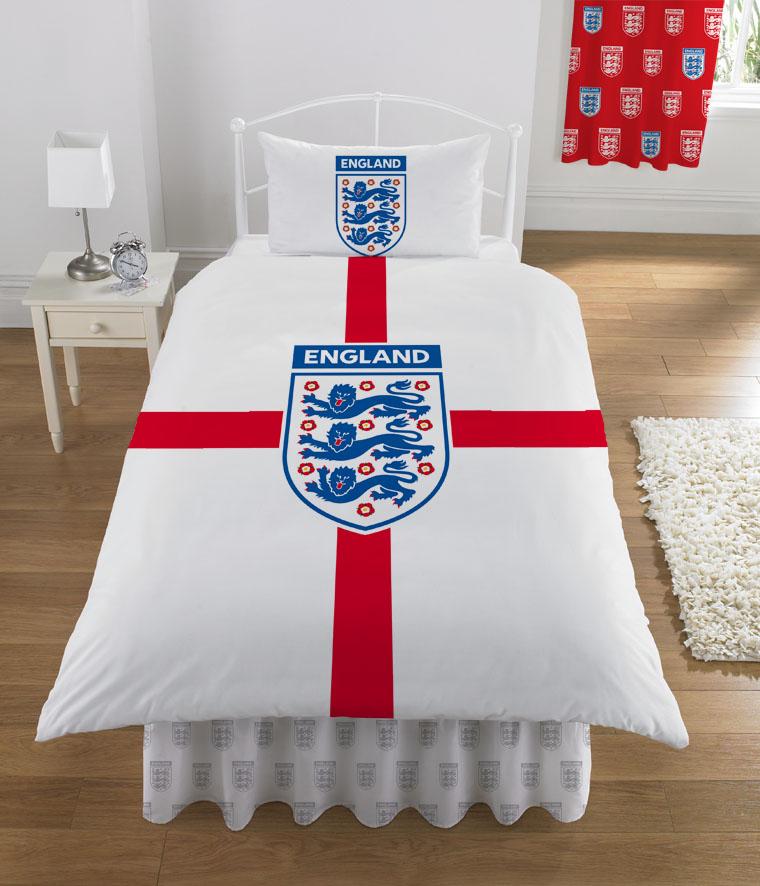 Duvet Covers England Football England Duvet Cover And