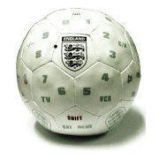England World Cup Football TV Remote Control