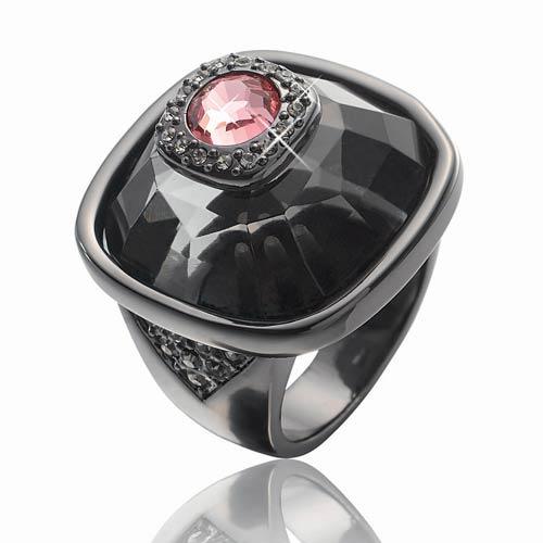 Smoky Hematite Ring