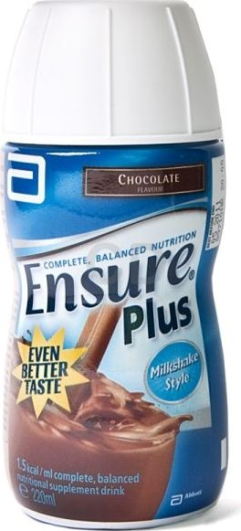 Ensure, 2102[^]0070851 Plus Milkshake Chocolate - 12 Pack