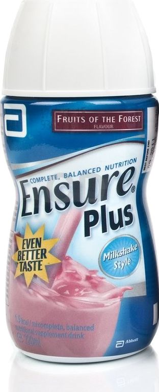 Ensure, 2102[^]0070852 Plus Milkshake FOTF - 12 Pack