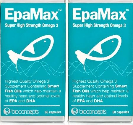 EpaMax, 2102[^]0071919 Omega 3 - High Strength - Twin Pack