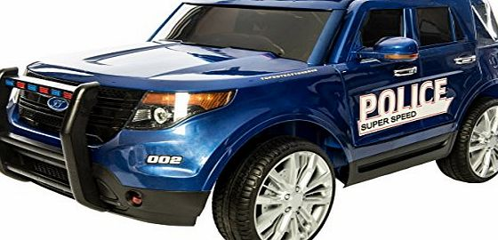 Epic Kids Police Range Rover Sport HSE Style 4x4 12v Electric / Battery Ride on Car Jeep - Blue