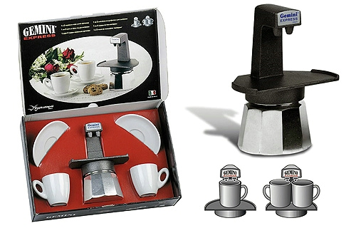 Eppicotispai Gemini Express Coffee Set Black - review, compare prices, buy online