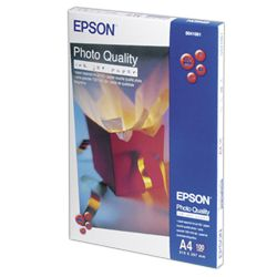 Epson Photo Quality Inkjet Paper 102gsm White A4 product image
