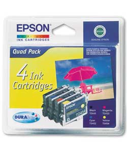 Epson TO44 Durabrite Ink Quad Pack product image