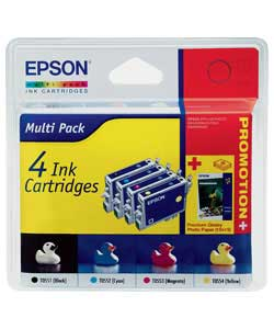 Epson TO55140 Ink and Paper Pack product image